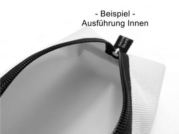 AUSWAHL VIELE FARBEN Stiftemäppchen, Federmäppchen, Universaltasche, Schlamper, Zipper SCHWARZ black, box bag, by BuntMixxDesign