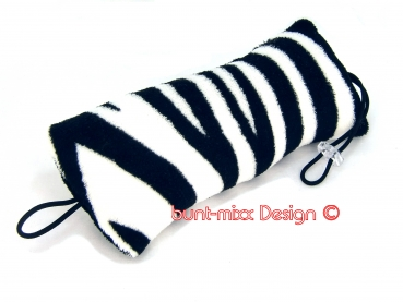 Türstopper ZEBRA Fleece Animalprint - mit Kordelstopper - bunt-mixx-DESIGN
